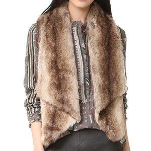 Jack BB Dakota Faux Fur Vest - NWOT